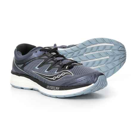 Saucony Triumph ISO 4 Running Shoes (For Men) in Grey/Black - Closeouts