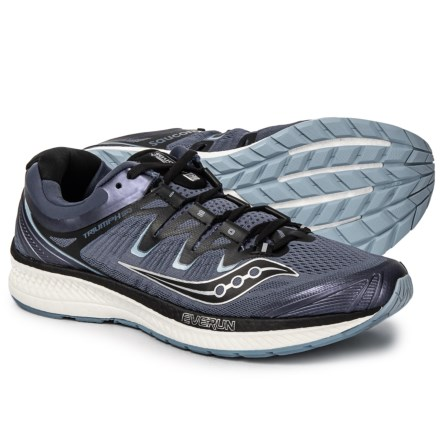 innovative design b1adf b1f3a Saucony Triumph ISO 4 Running Shoes (For Men) in Grey Black