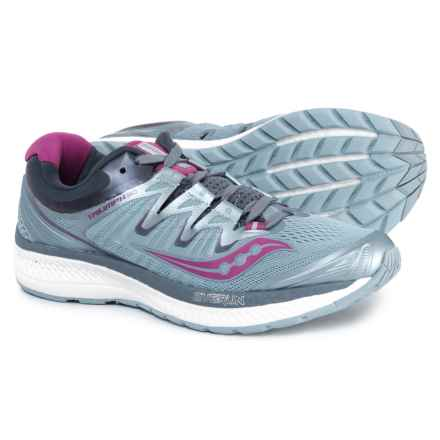 Saucony Triumph ISO 4 Running Shoes (For Women) in Fog/Grey/Purple - Closeouts