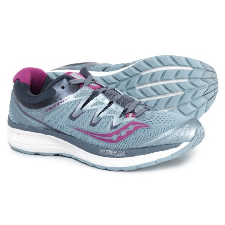 ce0b8fe8234 Saucony Triumph ISO 4 Running Shoes (For Women) in Fog Grey Purple