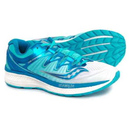 Saucony Triumph ISO 4 Running Shoes (For Women) in White/Blue - Closeouts