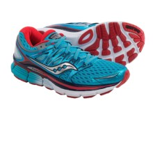 Saucony Triumph ISO Running Shoes (For Women) in Blue/Red - Closeouts