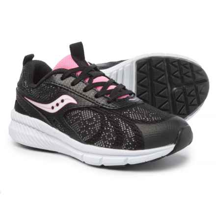 Saucony Velocity Sneakers (For Girls) in Black - Closeouts