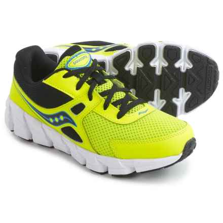 Saucony Vortex Shoes (For Youth Boys) in Citron - Closeouts