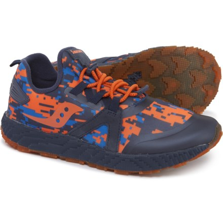 24fac1a9e1c5 Saucony Voxel 9000 Running Shoes (For Boys) in Navy Orange