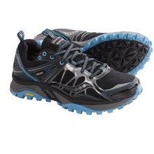 Saucony Xodus 3.0 Gore-Tex® Trail Running Shoes - Waterproof (For Women) in Black/Blue - Closeouts