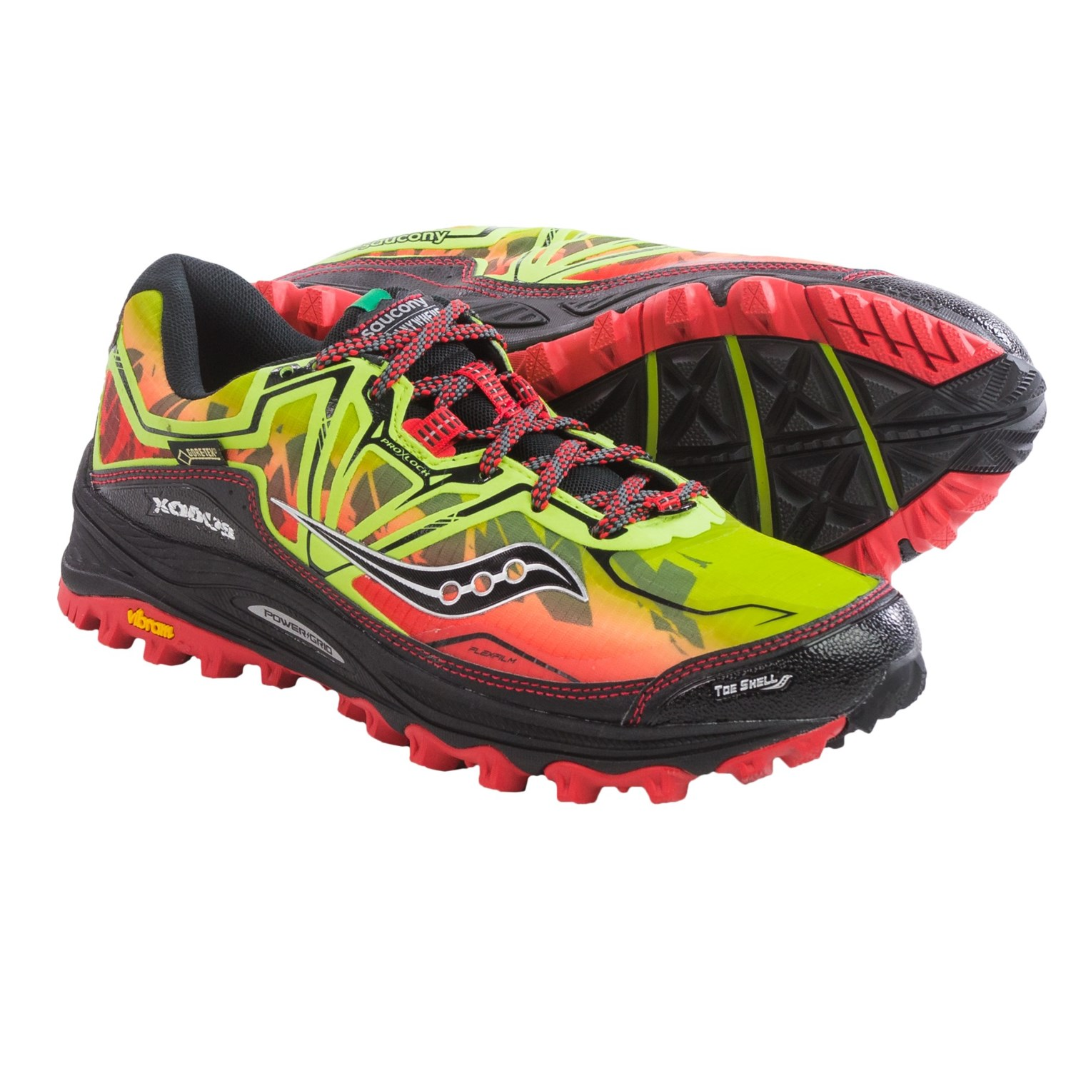 saucony xodus 6 0 gore tex trail running shoes for men. Black Bedroom Furniture Sets. Home Design Ideas