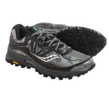 Saucony Xodus 6.0 Trail Running Shoes (For Men) in Black - Closeouts