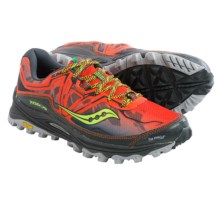 Saucony Xodus 6.0 Trail Running Shoes (For Men) in Red/Black - Closeouts