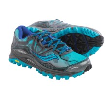 Saucony Xodus 6.0 Trail Running Shoes (For Women) in Blue/Grey - Closeouts