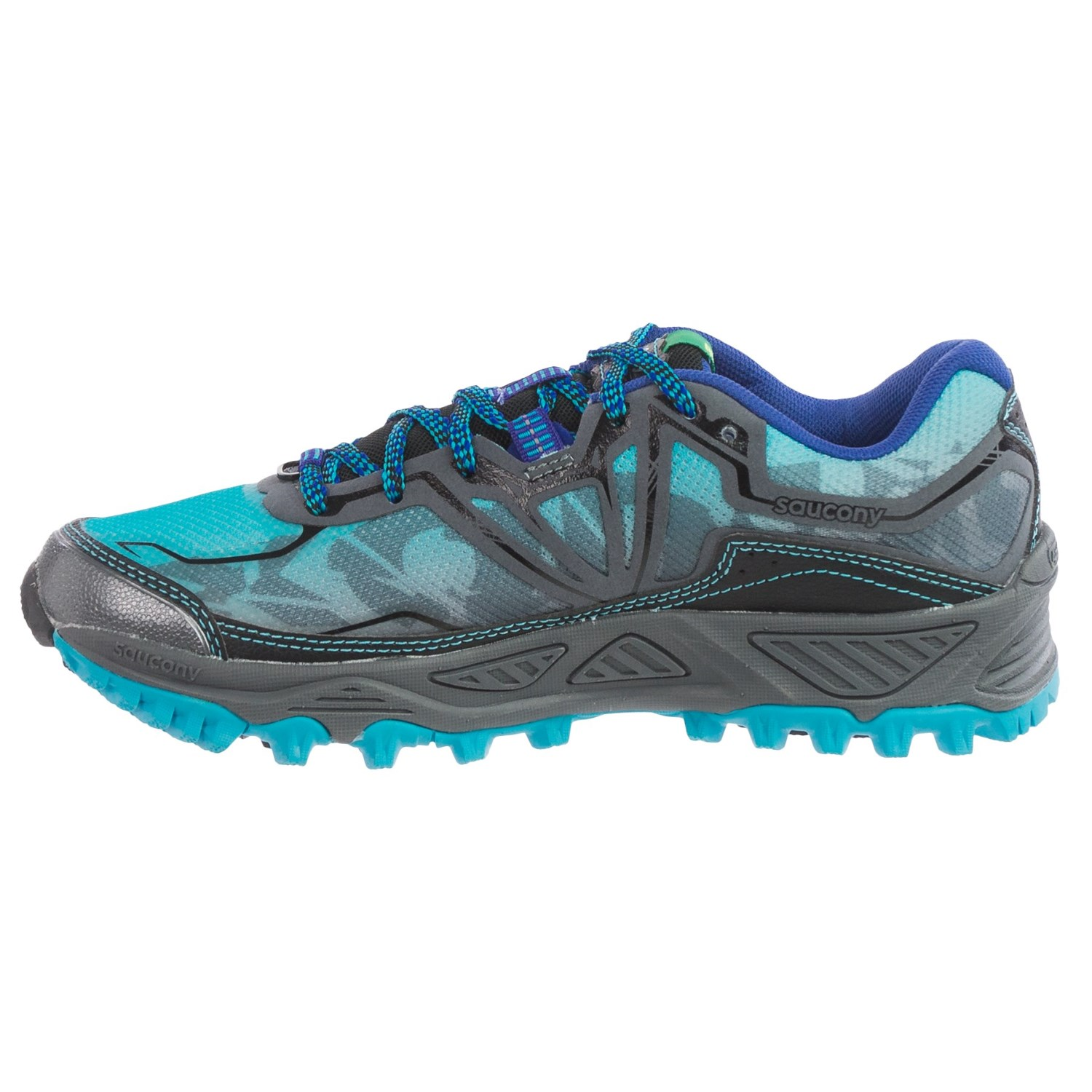 saucony xodus 6 0 trail running shoes for women save 41. Black Bedroom Furniture Sets. Home Design Ideas