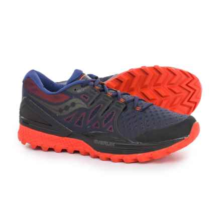 Saucony Xodus ISO 2 Trail Running Shoes (For Men) in Black/Orange - Closeouts