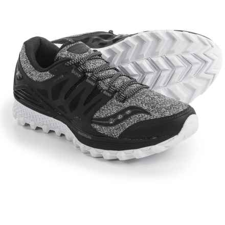 Saucony Xodus ISO Trail Running Shoes (For Women) in Marl/Black - Closeouts