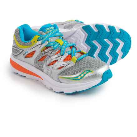 Saucony Zealot 2 Running Shoes (For Little Boys) in Grey/Multi - Closeouts