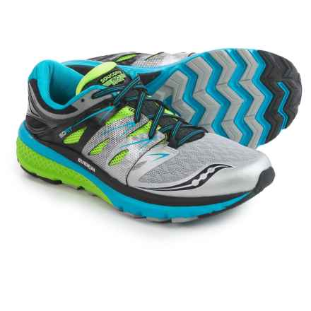 Saucony Zealot ISO 2 Running Shoes (For Men) in Blue/Slime/Silver - Closeouts