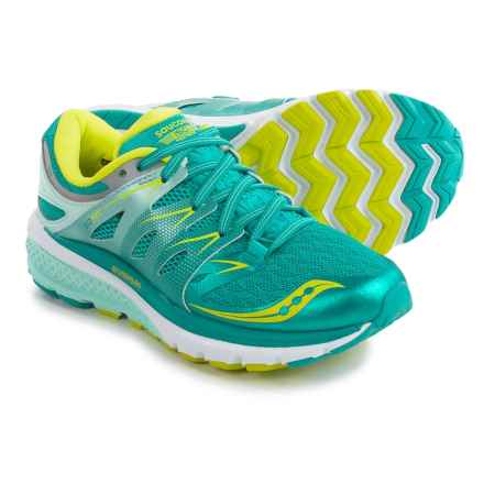 Saucony Zealot ISO 2 Running Shoes (For Women) in Teal/Citron - Closeouts