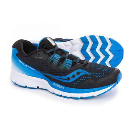 Saucony Zealot ISO 3 Running Shoes (For Men) in Black/Blue/White - Closeouts