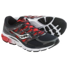 Saucony Zealot ISO Running Shoes (For Men) in Red/Black/Silver - Closeouts