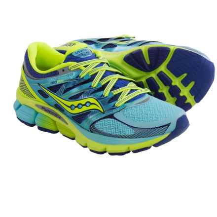 Saucony Zealot ISO Running Shoes (For Women) in Oxygen/Twilight/Citron - Closeouts