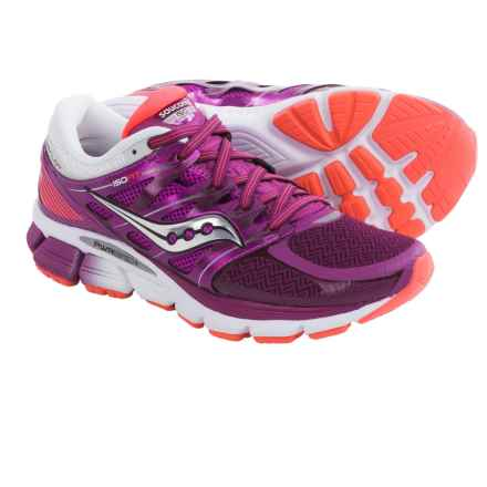 Saucony Zealot ISO Running Shoes (For Women) in Purple/Coral - Closeouts