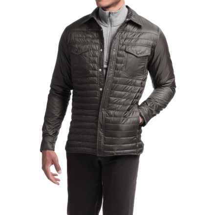 Save the Duck Deny 2 Shirt Jacket - Insulated (For Men) in Iron Grey - Closeouts