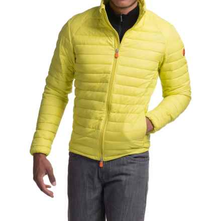 Save the Duck Giga 2 Jacket - Insulated (For Men) in Acid Yellow - Closeouts
