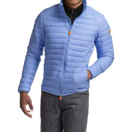 Save the Duck Giga 2 Jacket - Insulated (For Men) in Cloud Blue - Closeouts