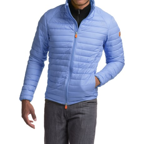Save the Duck Giga 2 Jacket - Insulated (For Men) in Cloud Blue