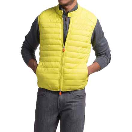 Save the Duck Giga 2 Vest - Insulated (For Men) in Acid Yellow - Closeouts