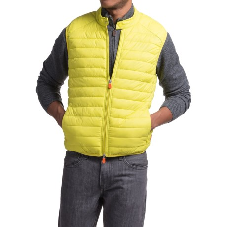 Save the Duck Giga 2 Vest - Insulated (For Men) in Acid Yellow