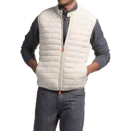 Save the Duck Giga 2 Vest - Insulated (For Men) in Ice Grey - Closeouts