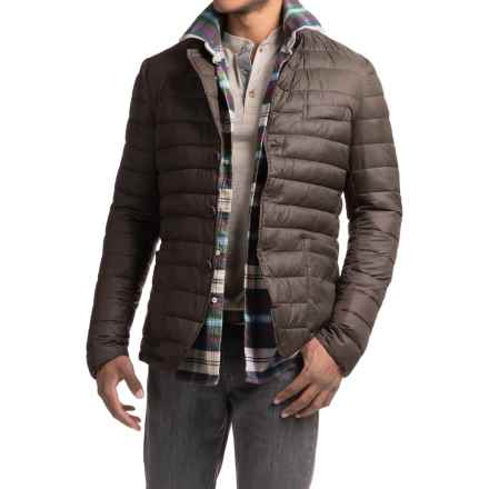 Save the Duck Giga Quilted Jacket - Insulated (For Men) in Brown Black - Closeouts
