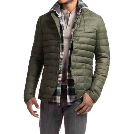 Save the Duck Giga Quilted Jacket - Insulated (For Men) in Cypress Green - Closeouts