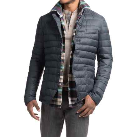 Save the Duck Giga Quilted Jacket - Insulated (For Men) in Shadow Blue - Closeouts