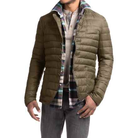Save the Duck Giga Quilted Jacket - Insulated (For Men) in Turtle Dove - Closeouts