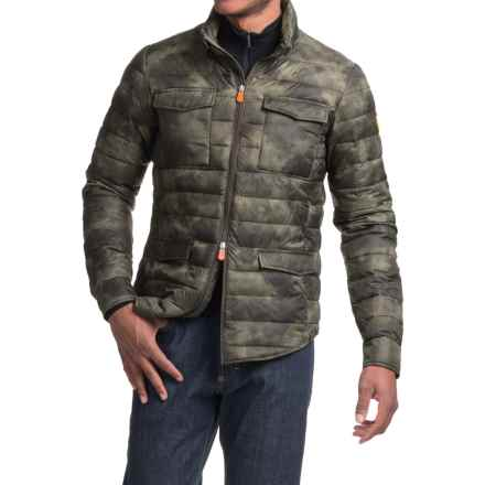 Save the Duck Marc Camo Field Jacket (For Men) in Grey - Closeouts