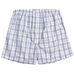 Savile Collection by Derek Rose Boxers - Cotton (For Men) in Blue/Yellow/White Stripe