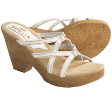 Sbicca Ivy Sandals - Leather (For Women) in White - Closeouts