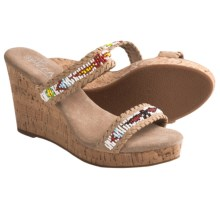Sbicca Karson Wedge Sandals (For Women) in Taupe - Closeouts