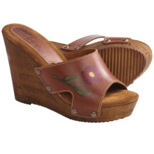 Sbicca Leaf Wedge Sandals (For Women) in Camel - Closeouts