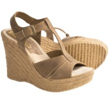 Sbicca Zachariah Wedge Sandals (For Women) in Brown - Closeouts