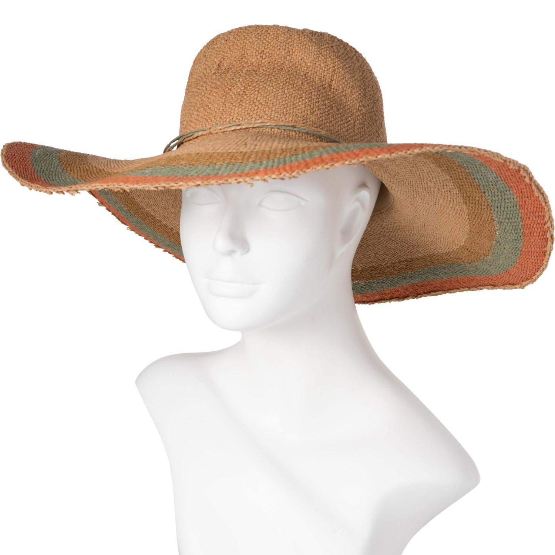 f66f06f39faba Scala Bangkok Toyo Floppy Hat (For Women) - Save 60%