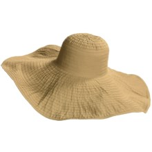 Scala Big-Brim Pool Hat (For Women) in Desert - Closeouts