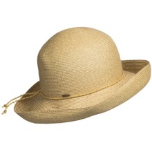 Scala Collezione Hat - Crushable (For Women) in Khaki - Closeouts