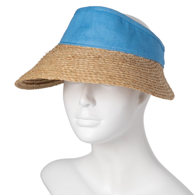 ffacc4e365a9e Scala Dyed Cotton Crown Visor (For Women) - Save 60%