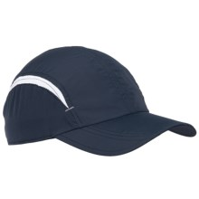 Scala Pro Ultralight Two-Tone Baseball Cap (For Women) in Navy/White - Overstock