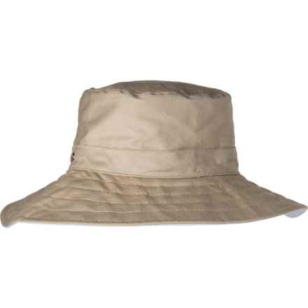 297b4f1129a76 Scala Reversible Cloth Brimmed Hat (For Women) in Khaki
