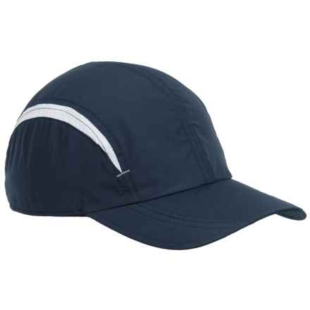Scala Ultralight Baseball Cap (For Women) in Navy/White - Closeouts