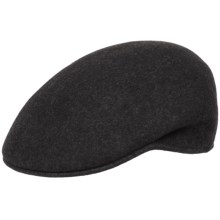 Scala Wool Felt Hat (For Men) in Charcoal - Closeouts