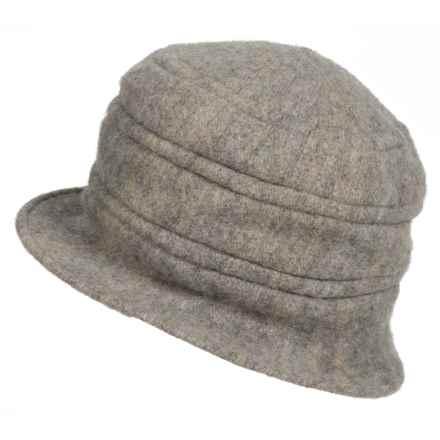 Scala Wool Melange Hat (For Women) in Grey - Closeouts